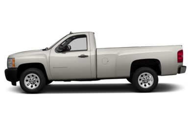 90 Degree Profile 2013 Chevrolet Silverado 1500