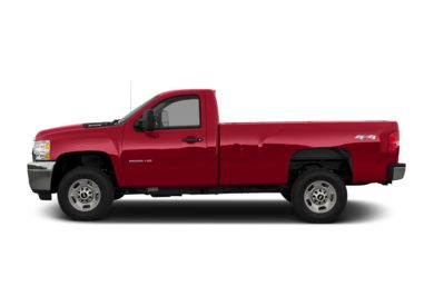 90 Degree Profile 2013 Chevrolet Silverado 2500HD