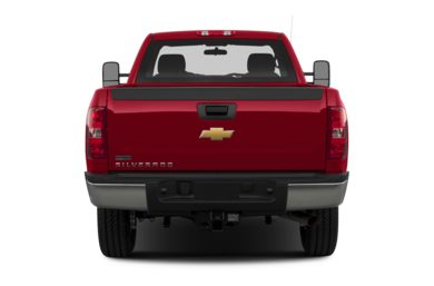 Rear Profile  2013 Chevrolet Silverado 2500HD
