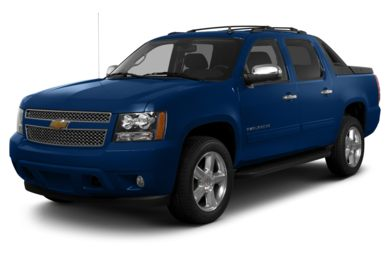 3/4 Front Glamour 2013 Chevrolet Avalanche