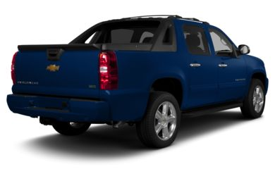 3/4 Rear Glamour  2013 Chevrolet Avalanche