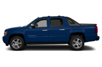 90 Degree Profile 2013 Chevrolet Avalanche