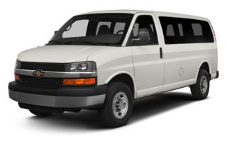 3/4 Front Glamour 2013 Chevrolet Express 1500