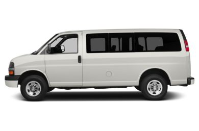 90 Degree Profile 2013 Chevrolet Express 1500