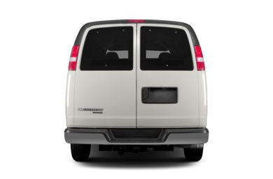 Rear Profile  2013 Chevrolet Express 1500