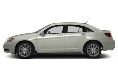 90 Degree Profile 2013 Chrysler 200