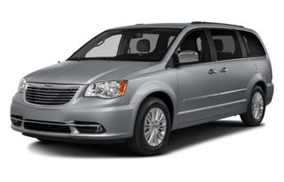 3/4 Front Glamour 2013 Chrysler Town & Country
