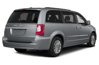 3/4 Rear Glamour  2015 Chrysler Town & Country