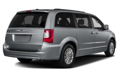 3/4 Rear Glamour  2013 Chrysler Town & Country
