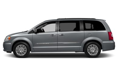 90 Degree Profile 2013 Chrysler Town & Country