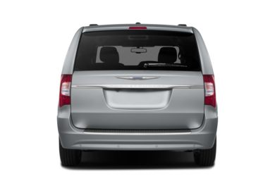 Rear Profile  2013 Chrysler Town & Country
