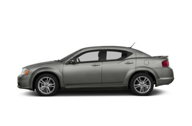 90 Degree Profile 2013 Dodge Avenger