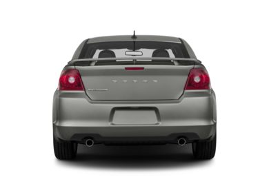 Rear Profile  2013 Dodge Avenger