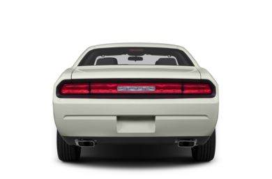 Rear Profile  2013 Dodge Challenger