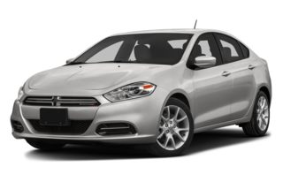 3/4 Front Glamour 2014 Dodge Dart