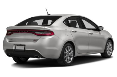 3/4 Rear Glamour  2014 Dodge Dart