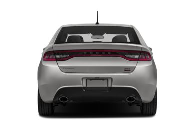 Rear Profile  2014 Dodge Dart