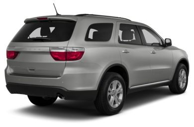 3/4 Rear Glamour  2013 Dodge Durango