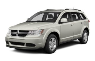 3/4 Front Glamour 2013 Dodge Journey