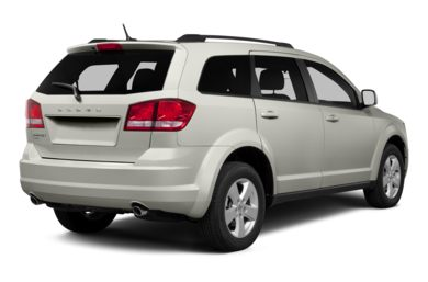 3/4 Rear Glamour  2013 Dodge Journey