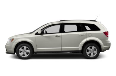 90 Degree Profile 2013 Dodge Journey