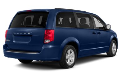 3/4 Rear Glamour  2013 Dodge Grand Caravan