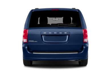 Rear Profile  2013 Dodge Grand Caravan