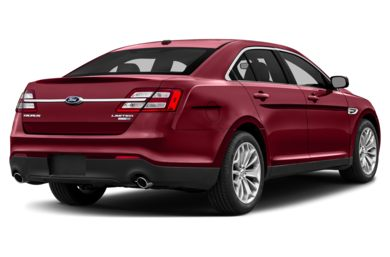 3/4 Rear Glamour  2014 Ford Taurus