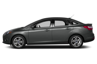 90 Degree Profile 2013 Ford Focus