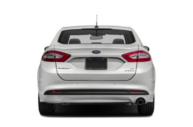 Rear Profile  2013 Ford Fusion Hybrid