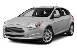 3/4 Front Glamour 2013 Ford Focus Electric