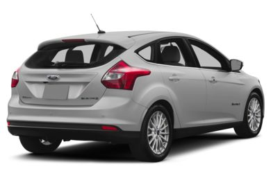 3/4 Rear Glamour  2013 Ford Focus Electric