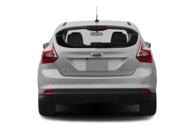 Rear Profile  2013 Ford Focus Electric