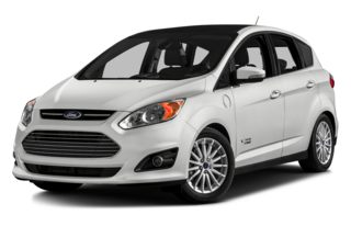 3/4 Front Glamour 2014 Ford C-Max Energi