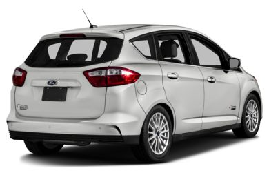 3/4 Rear Glamour  2013 Ford C-Max Energi