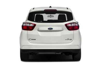 Rear Profile  2014 Ford C-Max Hybrid