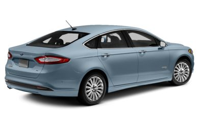 3/4 Rear Glamour  2013 Ford Fusion Energi