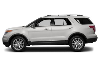 90 Degree Profile 2013 Ford Explorer