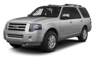 3/4 Front Glamour 2013 Ford Expedition