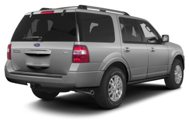 3/4 Rear Glamour  2013 Ford Expedition