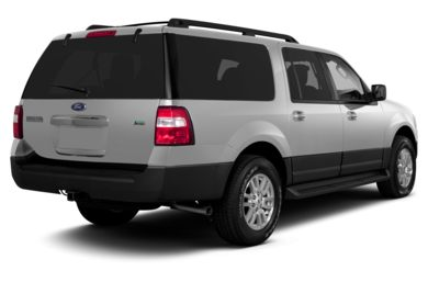 3/4 Rear Glamour  2013 Ford Expedition EL