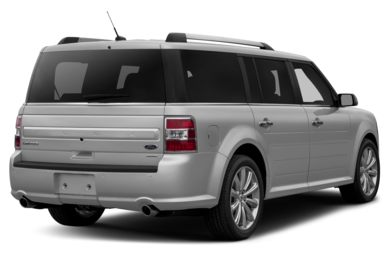 3/4 Rear Glamour  2014 Ford Flex