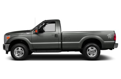 90 Degree Profile 2013 Ford F-250