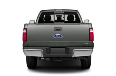 Rear Profile  2013 Ford F-250