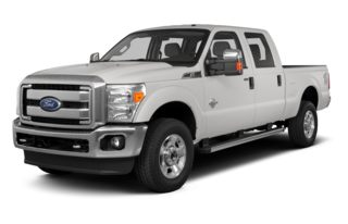 3/4 Front Glamour 2013 Ford F-350