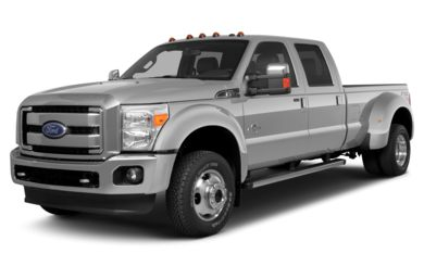 3/4 Front Glamour 2013 Ford F-450