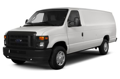 3/4 Front Glamour 2013 Ford E-350 Super Duty