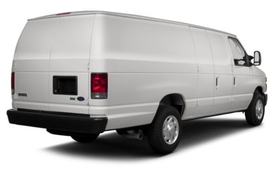 3/4 Rear Glamour  2013 Ford E-250