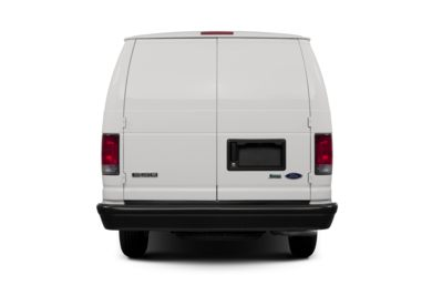 Rear Profile  2013 Ford E-150