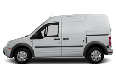 90 Degree Profile 2013 Ford Transit Connect